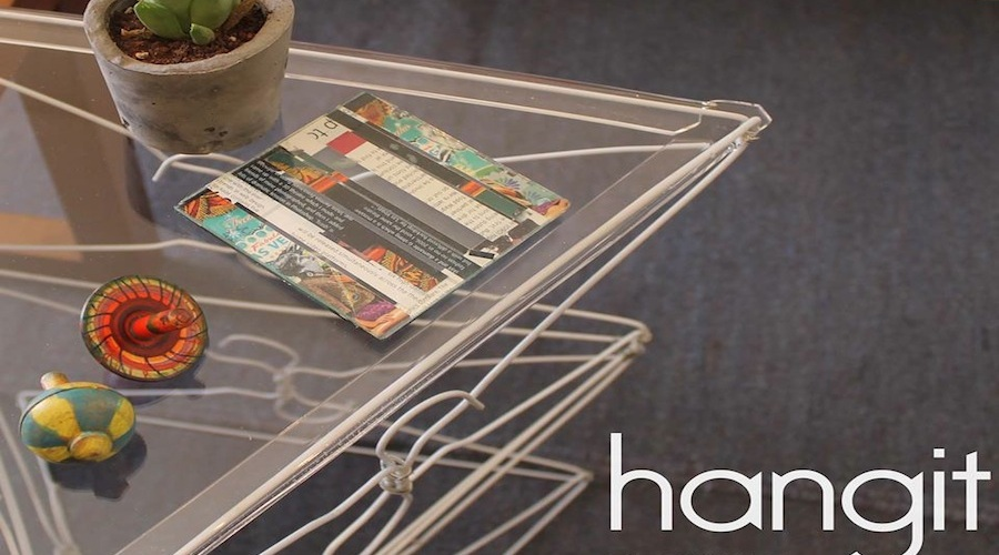 Hangit upcycled wir hangers