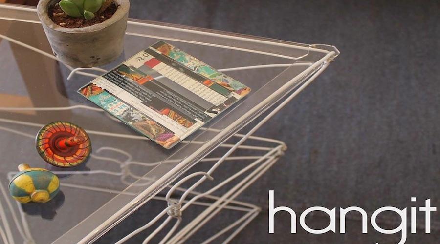 Hangit upcycled wir hangers