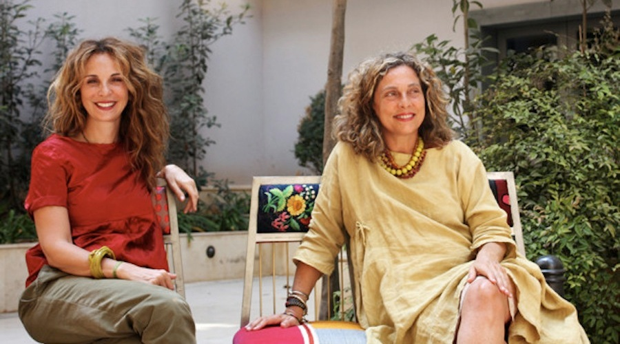 Huda Baroudi and Maria Hibri, co-founders of Bokja Design Studio