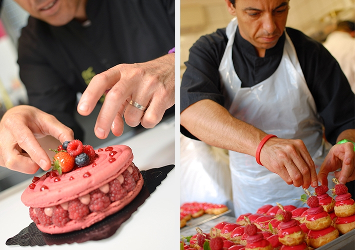 Christophe Roussel designs a cake