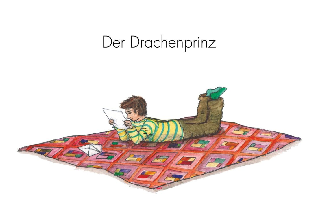 Der Drachenprinz cover by Louiza Fröbe